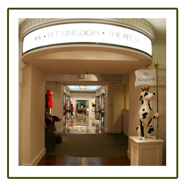 Pet Kingdom - when situated in Harrods of London